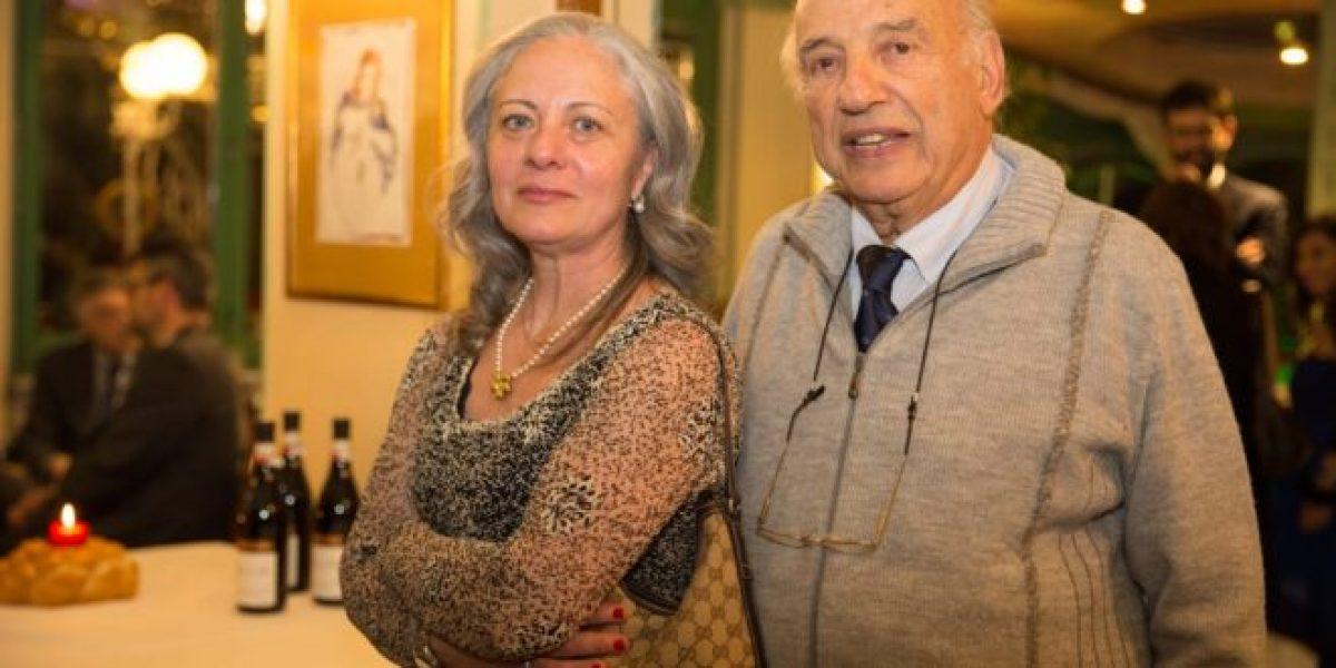 Marco Casu insieme alla nuora Annamaria
